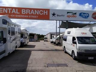 Cairns RV motor homes rentals