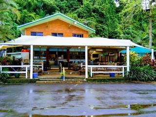 Innisfail Etty Bay Caravan Park, cassowary coast info