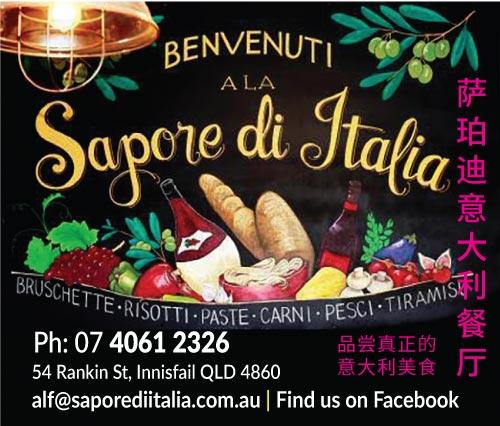 Sapore Di Italia Innisfail